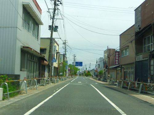 国道6号線14浪江バリケード