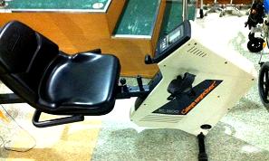 東京都 足立区 介護老人保健施設 千寿の郷 自主トレーニング エルゴメーター