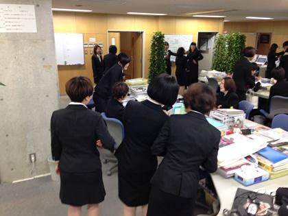 14 卒業生 職員室乱入②