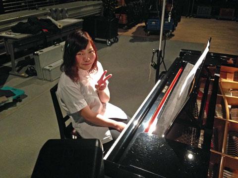 ②ピアニストさかえさん