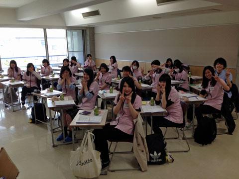 4月27日体験入学会