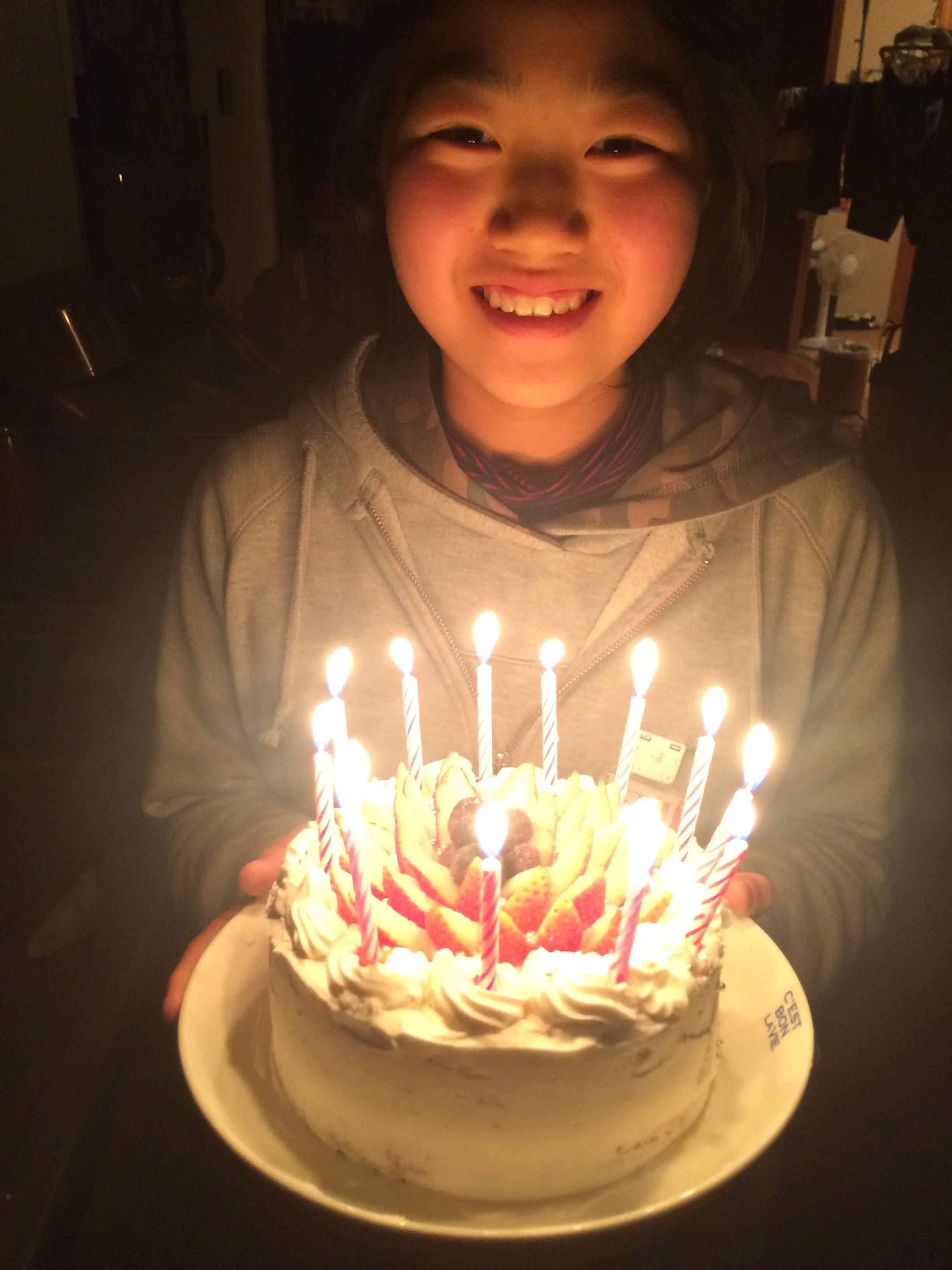 奏子 12歳 誕生日