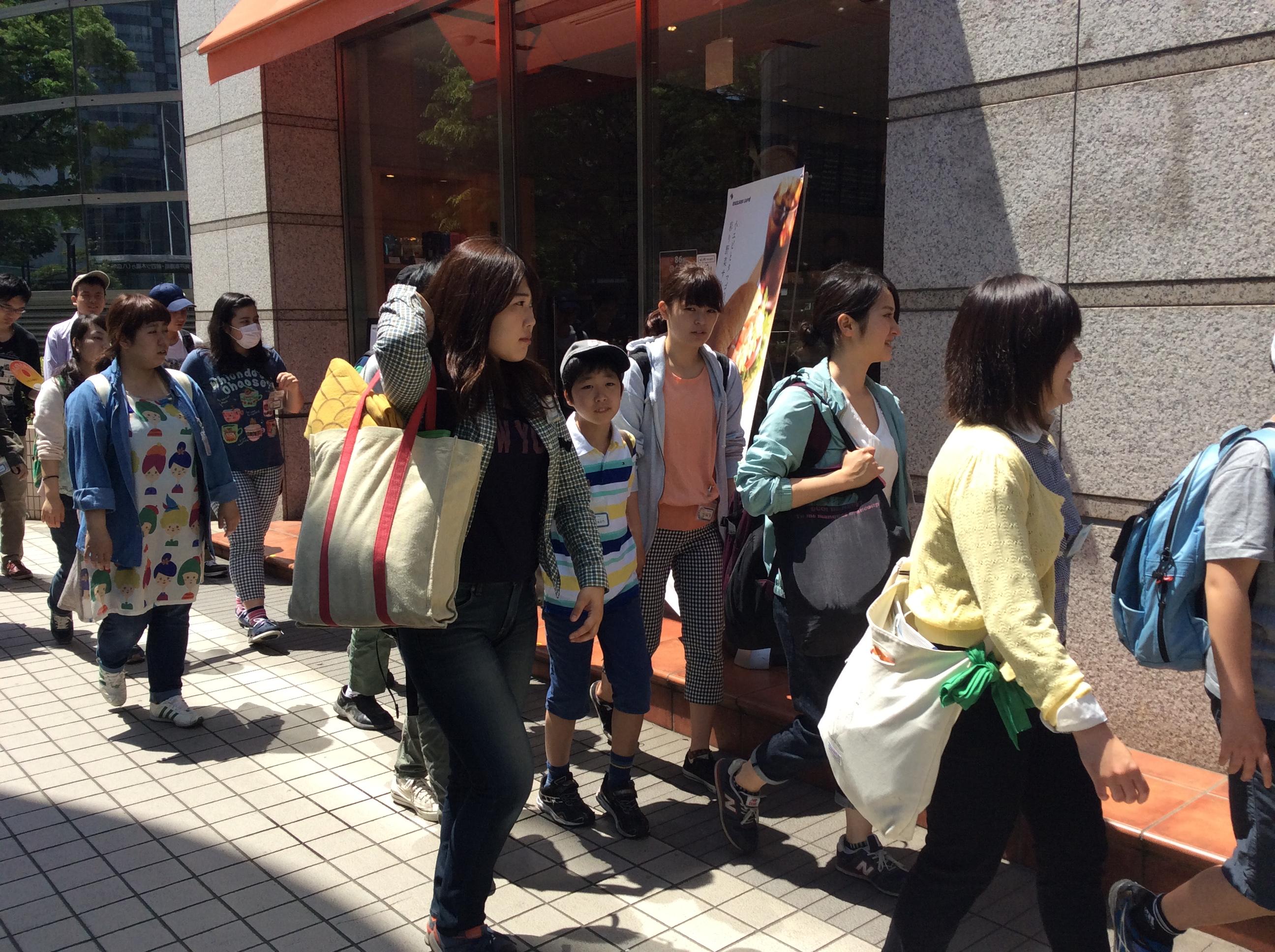 錦糸町駅から移動