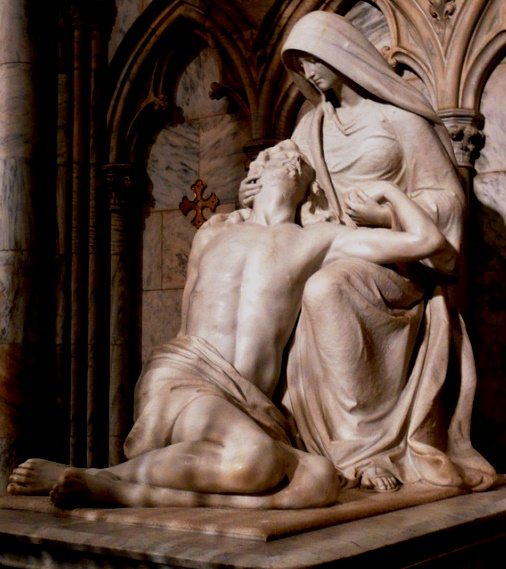 1111 pieta Saint Patricks Cathedral