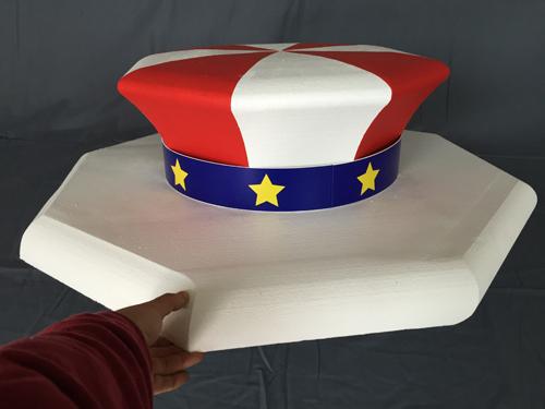 ジャグラー風帽子オブジェ01