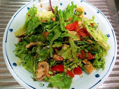 オリジナルレシピの「まぜまぜサラダ」downsize