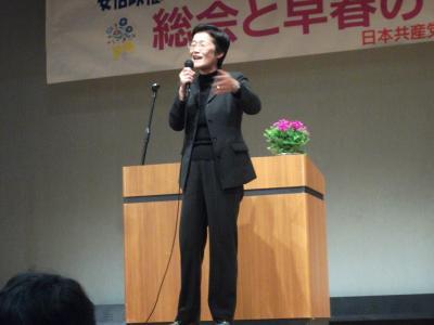 倉林明子参議院議員1