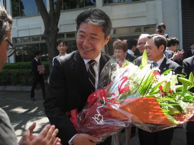 後藤新市長