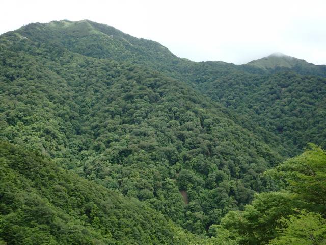 剣山とジロウギュー
