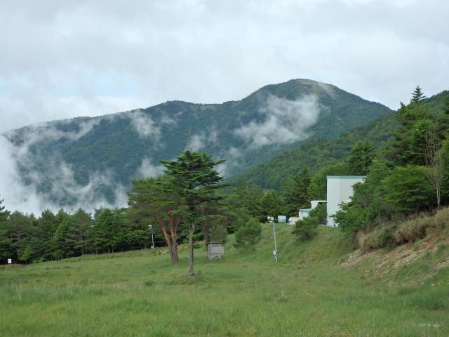 丸笹山を眺む