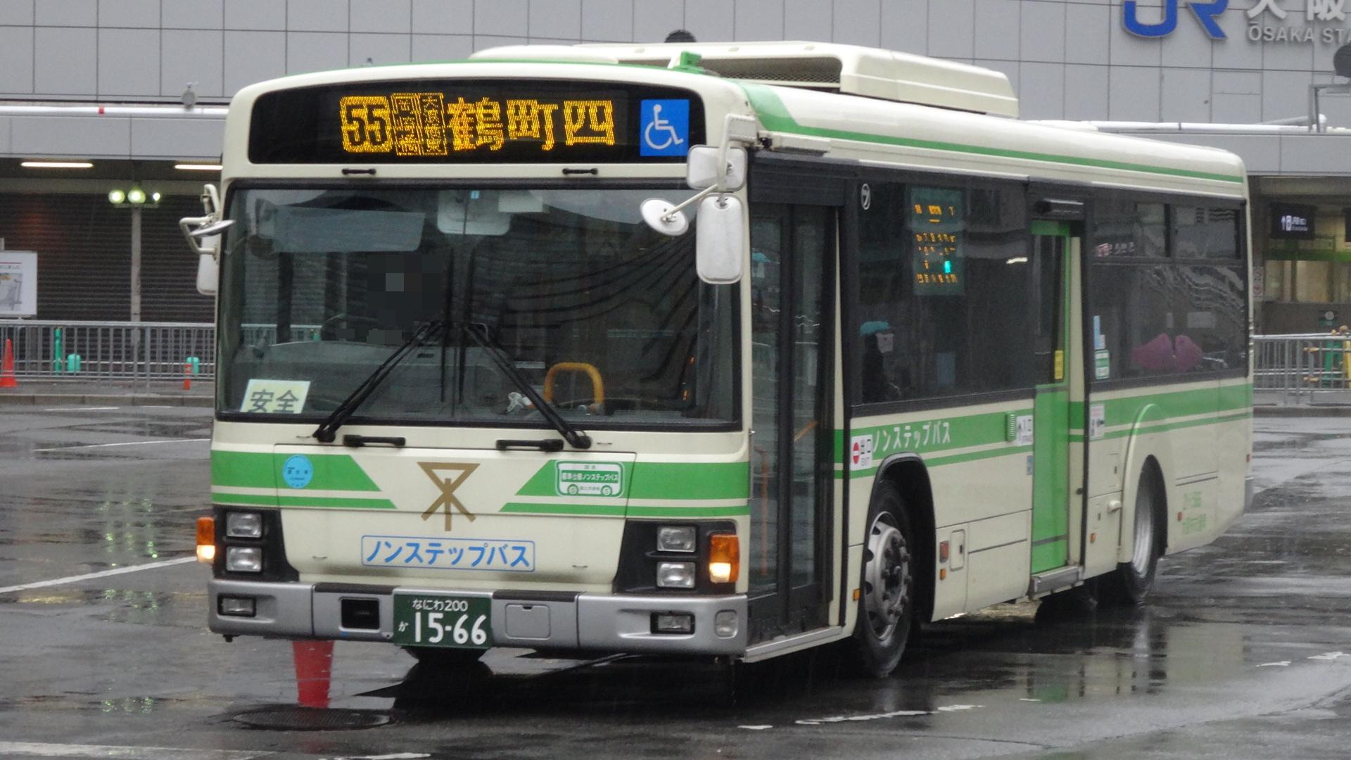 大阪市営バス 21-1566①