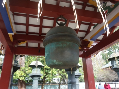ピカピカの上野東照宮