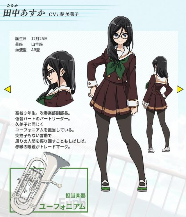 CHARACTER TVアニメ『響け!ユーフォニアム』公式サイト