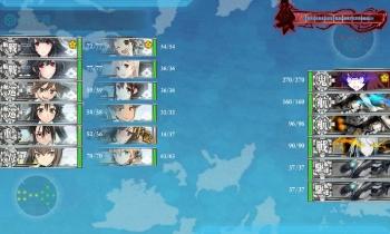 E-3ボス戦8回目昼戦