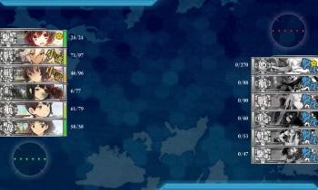 201504 5-2珊瑚諸島ボス戦3戦目夜戦終了