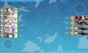 E-1-A敵艦隊