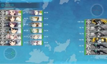 E-2-J敵艦隊