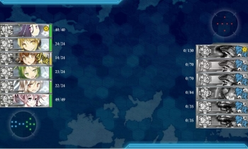 E-2-J敵艦隊戦闘終了