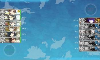 E-3-D軽巡棲鬼戦終了