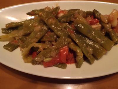 6.26モロッコ豆のオリーブオイル煮