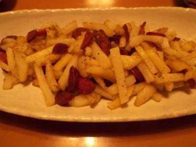 7.5ジャガイモ炒め