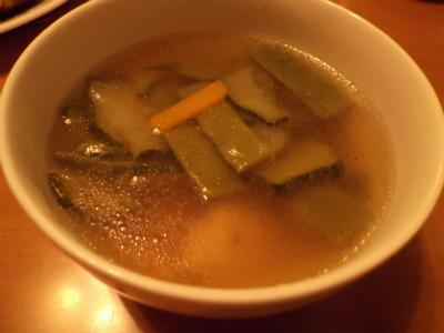 7.12夏野菜の中華スープ
