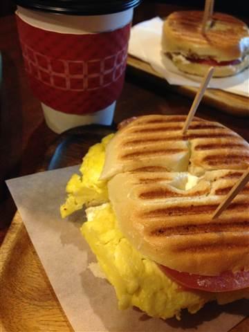 ベーグルサンドイッチ 201501