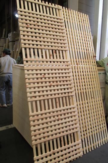 木摺りパネル