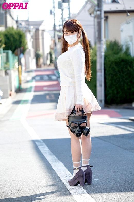 仮面の巨乳女子 02