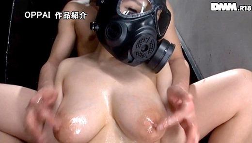 仮面の巨乳女子 24