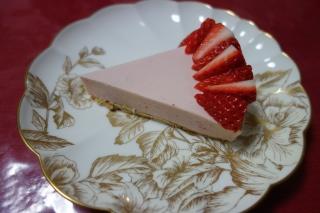 いちごのチーズケーキ1223