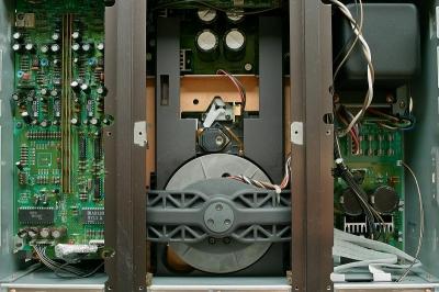 TEAC VRDS-25Xの内部