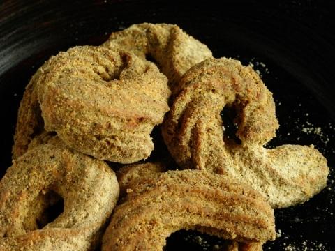 米粉黒豆きなこドーナツ