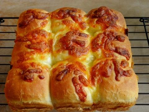 チーズのスクエアパン