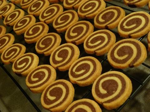 うずまきクッキー・ココア