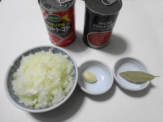 ナポリタン ソース材料