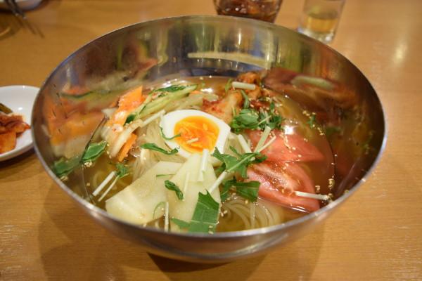 プルコギ 冷麺