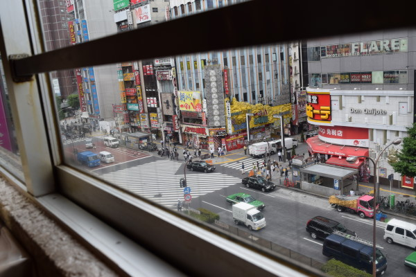 新宿の街並み はやしやさんから