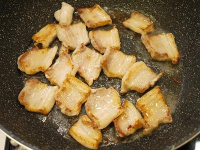 150201豚ばら肉のネギネギソースかけ (2)