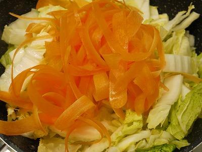 150209生姜の効いた白菜旨炒め (2)
