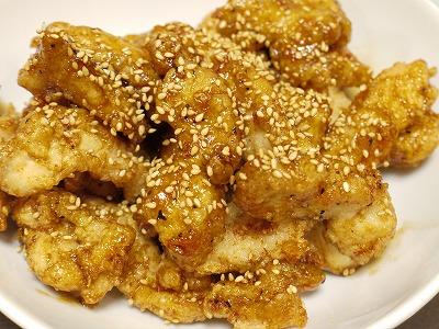 150314鶏ムネを使った名古屋風スティック揚げ (5)
