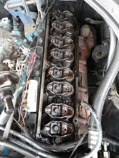 V8エンジンオイル下がり修理 (17)