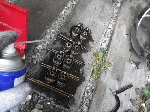 V8エンジンオイル下がり修理 (28)