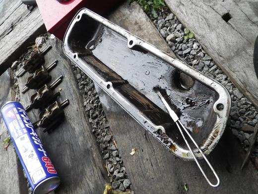 V8エンジンオイル下がり修理 (35)