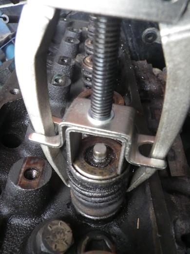 V8エンジンオイル下がり修理 (42)
