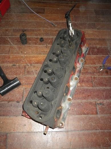 V8エンジンオイル下がり修理 (45)