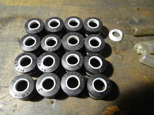V8エンジンオイル下がり修理 (9)