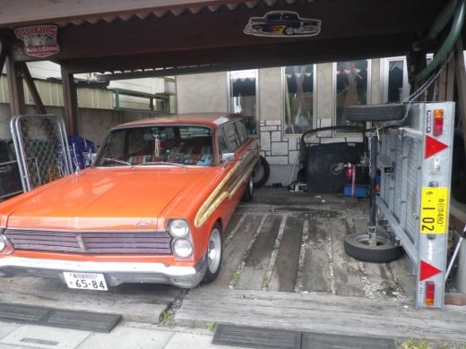 ガレージ整理出来た? (1)