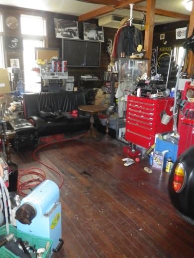 ガレージ整理出来た? (5)