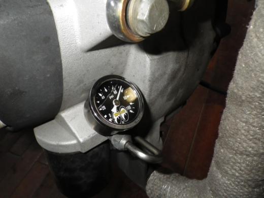油圧計取付 (18)